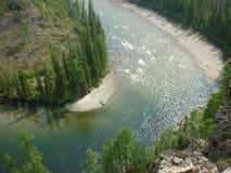 Krajobraz, rzeka fotografia royalty free