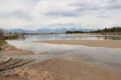 Krajobraz, rzeka zdjęcia stock