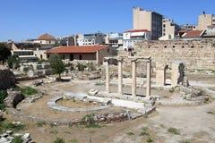 Krajobraz rzymska agora Zdjęcia Royalty Free