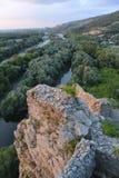 Krajobraz - słowak granica z Austria Zdjęcie Royalty Free