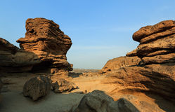 Krajobraz sampanbok Obrazy Royalty Free