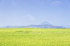 Krajobraz Sanbangsan i Songaksa Zdjęcia Royalty Free