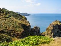 Krajobraz Sark wyspa, Guernsey, channel islands Zdjęcie Stock