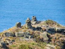 Krajobraz Sark wyspa, Guernsey, channel islands Zdjęcie Royalty Free