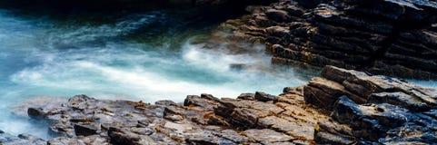 Krajobraz Scotish średniogórza wyspa Skye i fotografia royalty free