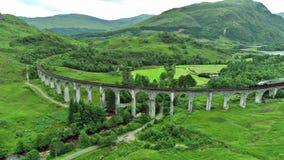 Krajobraz Scotish średniogórza wyspa Skye i obraz royalty free