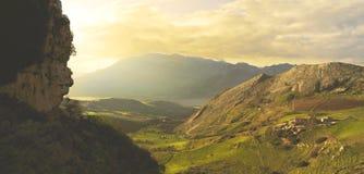 Krajobraz Sicily Zdjęcie Royalty Free