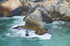 Krajobraz skały Obrazy Royalty Free