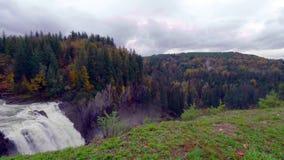 Krajobraz Snoqualmie Spada w stan washington, usa zdjęcia stock