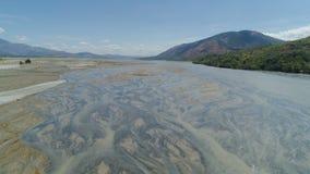 Krajobraz spieczony rzeczny Filipiny, Luzon fotografia royalty free