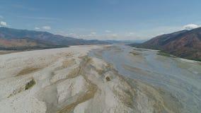 Krajobraz spieczony rzeczny Filipiny, Luzon zdjęcie royalty free