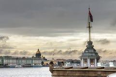 Krajobraz St Petersburg, Rosja zdjęcie stock