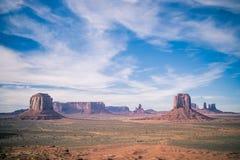 Krajobraz strzelał Sedona zabytku dolina Zdjęcie Royalty Free