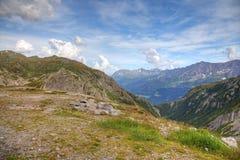 Krajobraz swisss Alps zdjęcia royalty free
