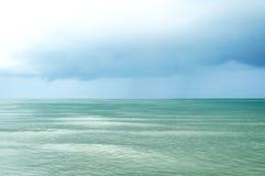 Krajobraz szmaragdowy morze Fotografia Stock