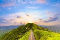 Krajobraz Taipei Zdjęcia Royalty Free