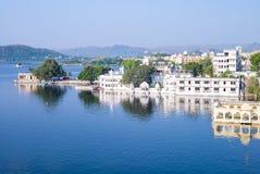 Krajobraz udaipur, Rajasthan, ind Obrazy Royalty Free