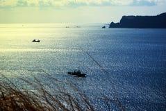Krajobraz Udo wyspa w Jeju wyspie, Południowy Korea zdjęcie stock
