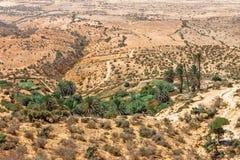 Krajobraz w afryce pólnocnej Zdjęcia Royalty Free
