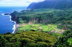 Krajobraz w Azores, wothwhile wakacyjny miejsce przeznaczenia fotografia stock