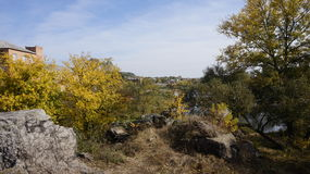 Krajobraz w Boguslav Fotografia Royalty Free