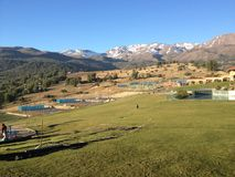 Krajobraz w Chile Obrazy Stock