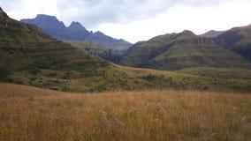 Krajobraz w Drakensberg parku narodowym Fotografia Royalty Free