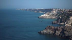 Krajobraz w dziejowym miejscu Crimea Denny terytorium przy stopą góry Denne wycieczki zbiory
