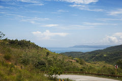 Krajobraz w Filipiny zdjęcie royalty free