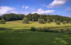 Krajobraz w grodowym Howard, England, zlany królestwo obraz royalty free