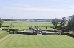 Krajobraz w grodowym Howard, England, zlany królestwo zdjęcia stock