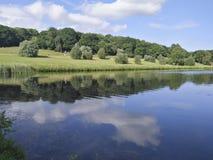 Krajobraz w grodowym Howard, England, zlany królestwo zdjęcia royalty free