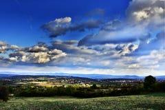 Krajobraz w HDR części Ja Zdjęcia Royalty Free