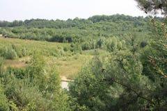 Krajobraz w holenderze Limburg Fotografia Stock