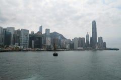 Krajobraz w Hongkong Zdjęcia Royalty Free