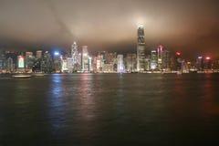 Krajobraz w Hongkong Zdjęcie Royalty Free