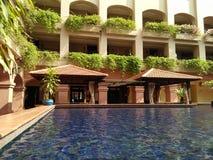 Krajobraz w hotelu De Rio, Melaka zdjęcia stock