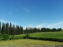 Krajobraz w Italy zdjęcie stock