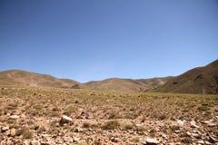 Krajobraz w Jujuy Zdjęcie Stock