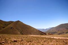 Krajobraz w Jujuy obraz royalty free