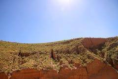 Krajobraz w Jujuy obraz stock