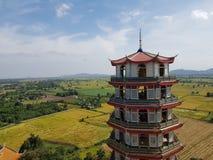 krajobraz w kanchanaburi Obrazy Royalty Free