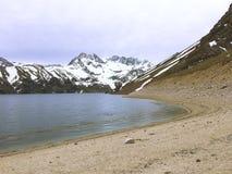 Krajobraz w Maipu okręgu w Santiago chile fotografia royalty free