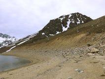 Krajobraz w Maipu okręgu w Santiago chile obraz stock