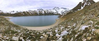 Krajobraz w Maipu okręgu w Santiago chile zdjęcia stock