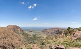 Krajobraz w Marakele parku narodowym, Południowa Afryka Zdjęcie Stock
