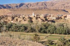 Krajobraz w Maroko, afryka pólnocna Obraz Royalty Free