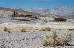 Krajobraz w Śmiertelnej dolinie Zdjęcie Stock