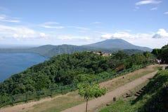 Krajobraz w Nikaragua Obraz Stock