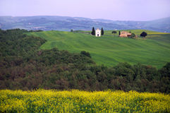 krajobraz włochy Toskanii Fotografia Royalty Free
